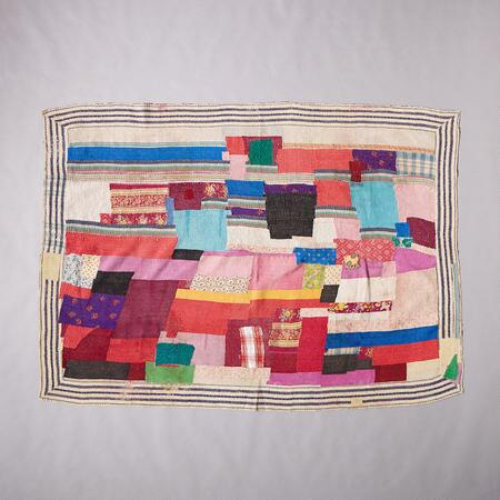 ONE-OF-A-KIND VAKAI QUILTED THROW
