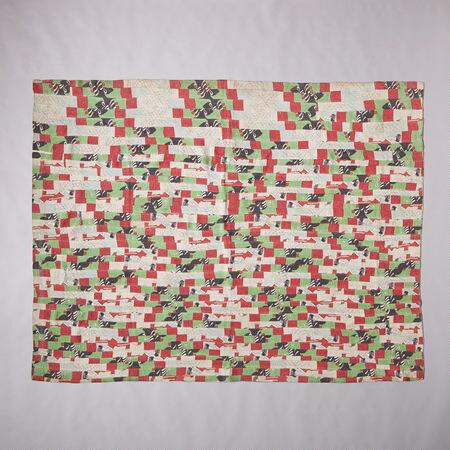 ONE-OF-A-KIND CURAL QUILTED THROW