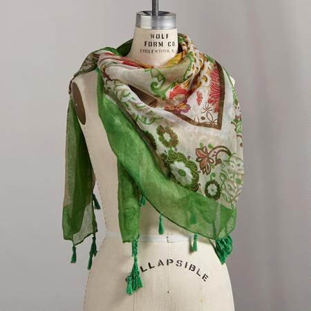 NATURAL BEAUTY SCARF