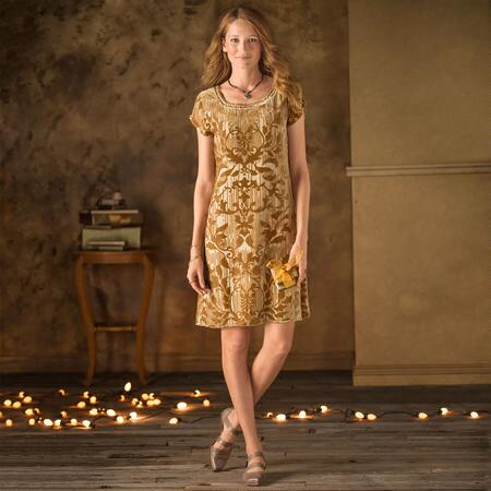 Champagne Vineyard Dress