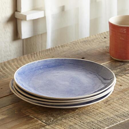 GIFT...EARTH SALAD PLATE S/4