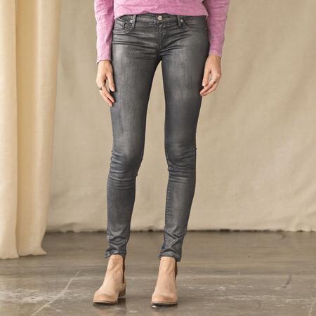 Silver Sheen Jeans