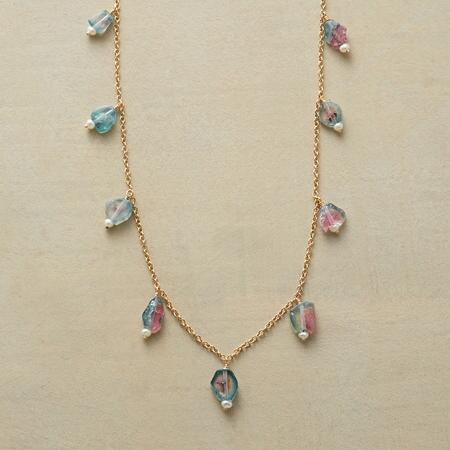 CACTUS FLOWER NECKLACE