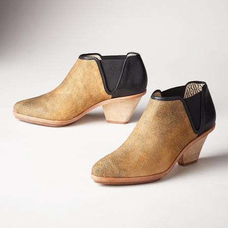 MARLOW LEATHER BOOTIES