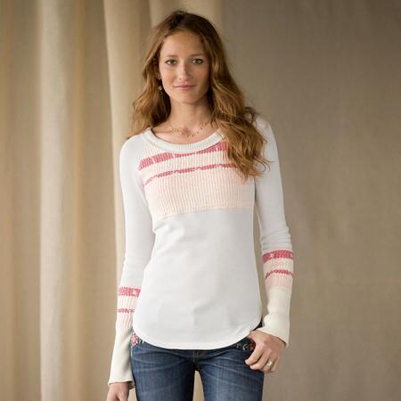KNIT & PURL TOP