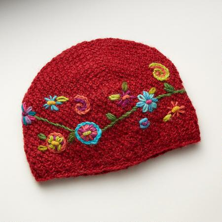 TRAILSIDE FLOWERS HAT