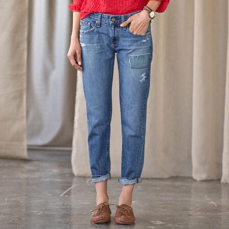 NIKKI CROP JEANS BY A G