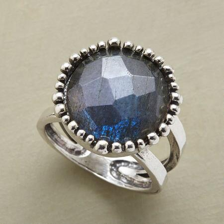 LABRADORITE CELEBRATION RING