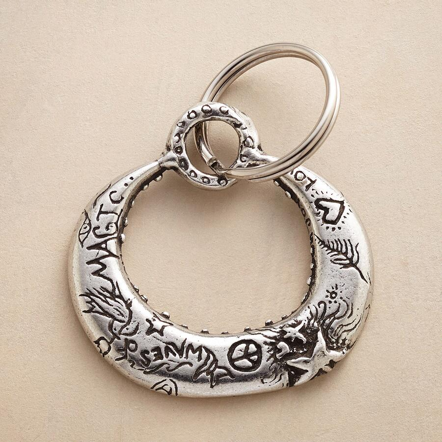 MAGIC MOON KEYRING
