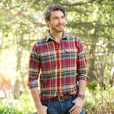 TAILOR VINTAGE RED PLAID