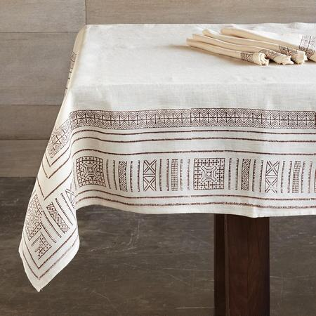 CINNAMON ROAD TABLECLOTH