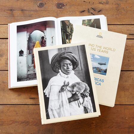 AROUND THE WORLD IN 125 YEARS, SET OF 3