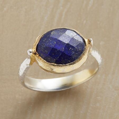 LOVELY LAPIS RING