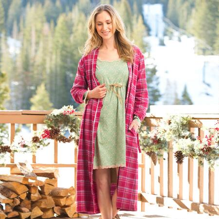 DREAMLAND FLANNEL ROBE