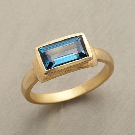 BLUE RADIANCE RING