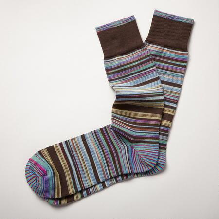 BROWN CHARISMA COLOR SOCKS