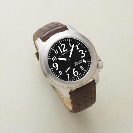 BLACK & TAN WATCH