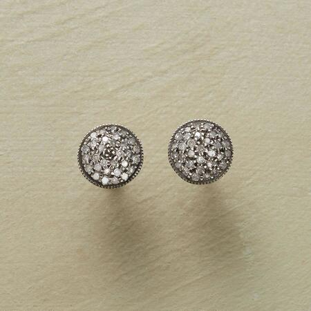 MOUNTAIN NIGHT DIAMOND EARRINGS