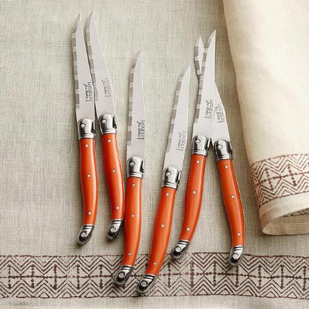 THIERS CUTLERY KNIVES, SET OF 6