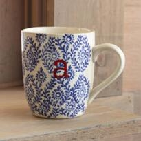 TO THE LETTER BLUE MUGS
