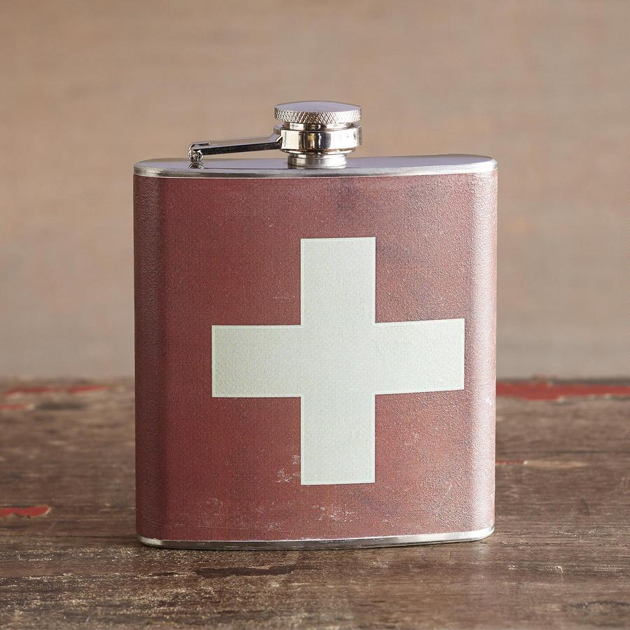 LIQUID COURAGE FLASK SWISS ARMY