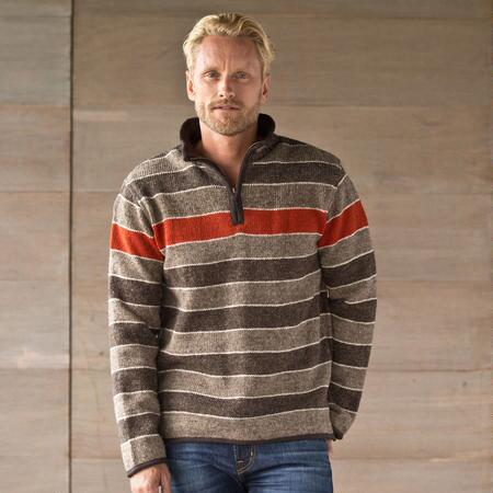 HIGHLAND STRIPED SWEATER