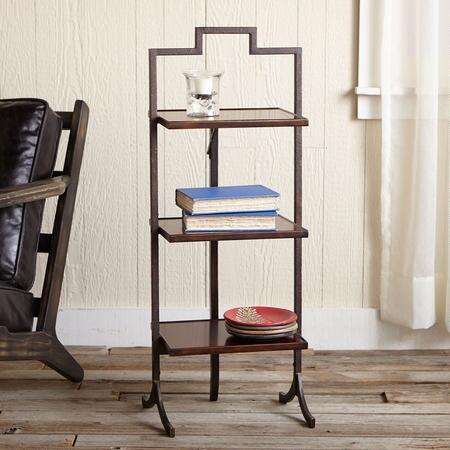 DRAPER FOLDING SIDE TABLE