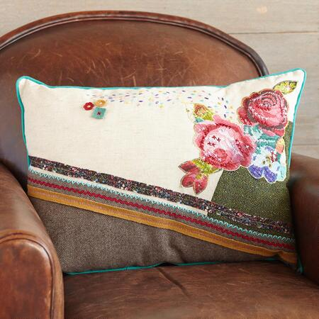 ROSESONG PATCHWORK PILLOW