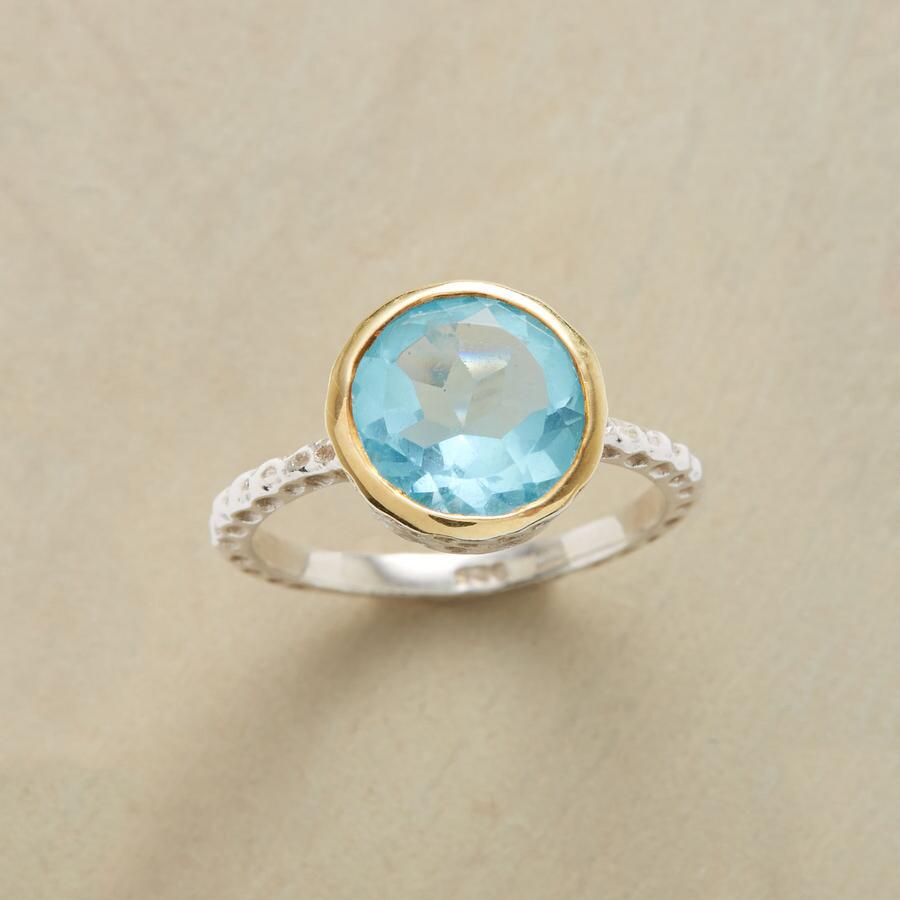 STARRY BLUE RING