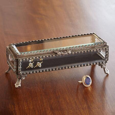 LONG RECTANGLE JEWELRY BOX