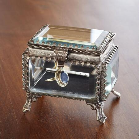 SMALL RECTANGLE JEWELRY BOX