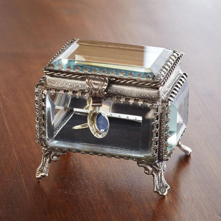 SMALL RECTANGLE JEWELRY BOX