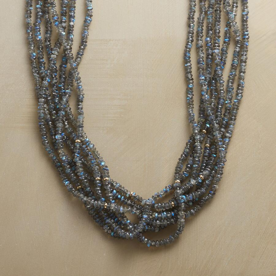 LABRADORITES GALORE NECKLACE