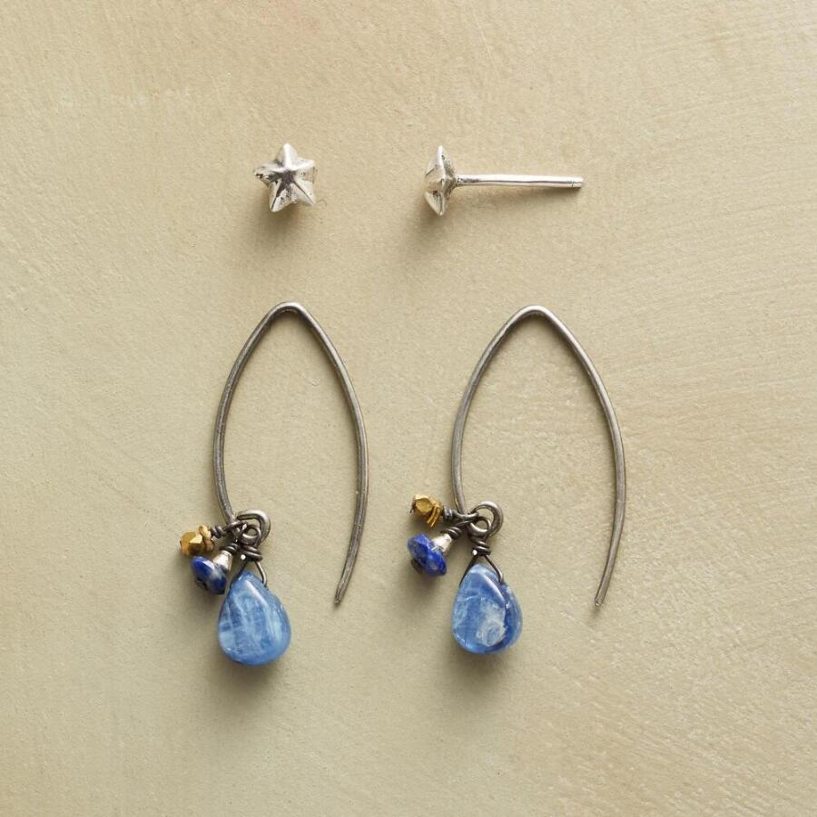 LONE STAR EARRING DUO