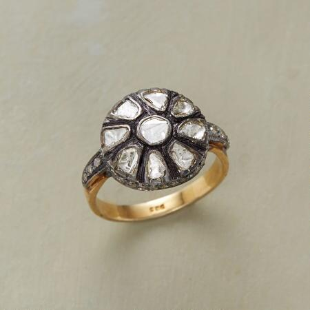 DIAMOND BLOSSOM RING