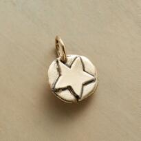 14KT GOLD STAR CHARM