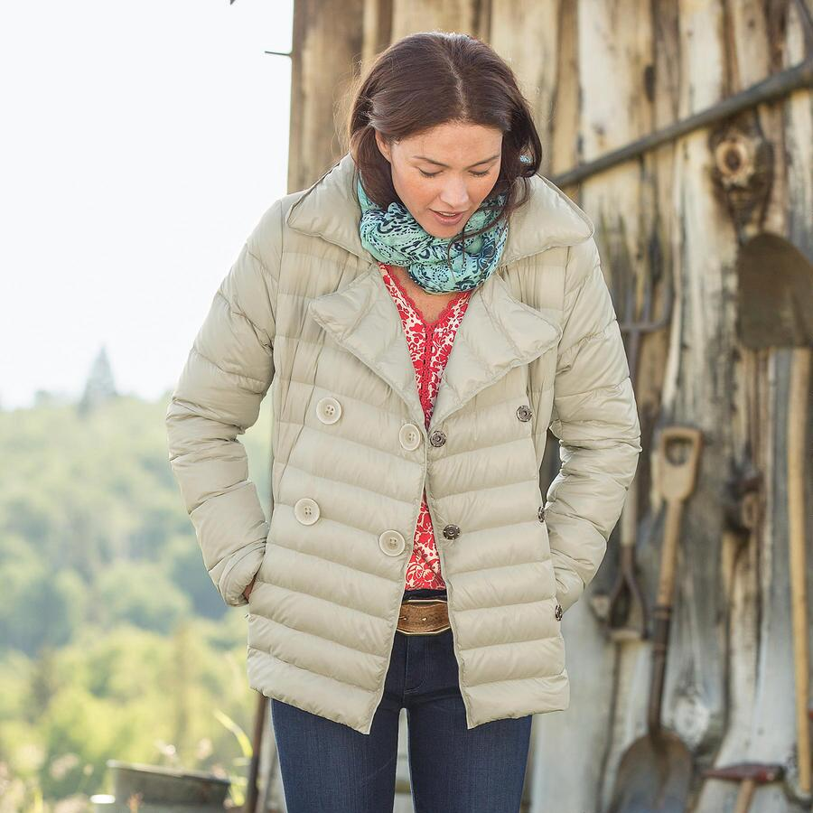 FOOTHILLS DOWN-FILLED PEACOAT