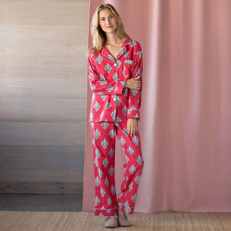 Fleur de Lis Pajamas