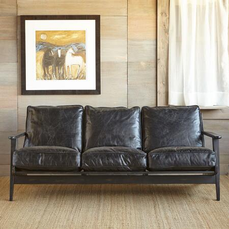 TIMPANOGOS LEATHER SOFA