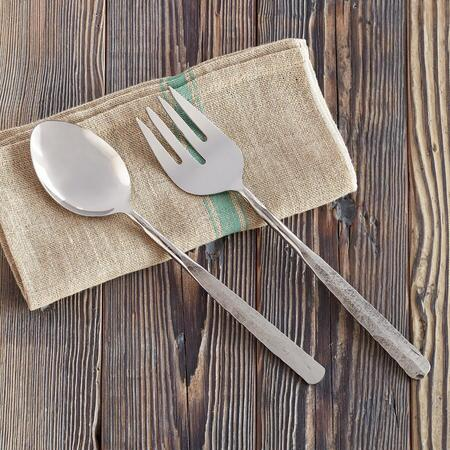 EMERY HAMMERED SERVING SET, 2-PIECE SET