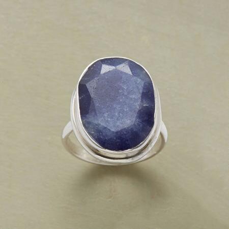 MOONLIT MIDNIGHT RING