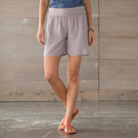 COOL N EASY SOLID ROLL TOP SHORTS