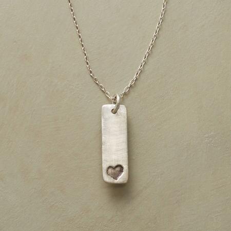 TINY HEART, BIG LOVE NECKLACE