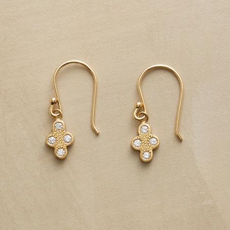 DIAMOND QUARTET EARRINGS
