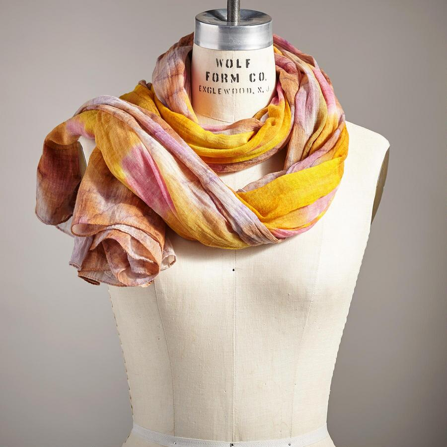 BLOSSOMS IN THE SUN SCARF