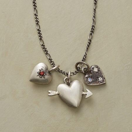 VINTAGE HEARTS NECKLACE