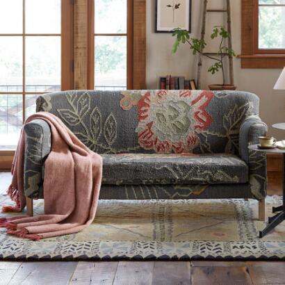 MOON GARDEN KILIM LOVESEAT