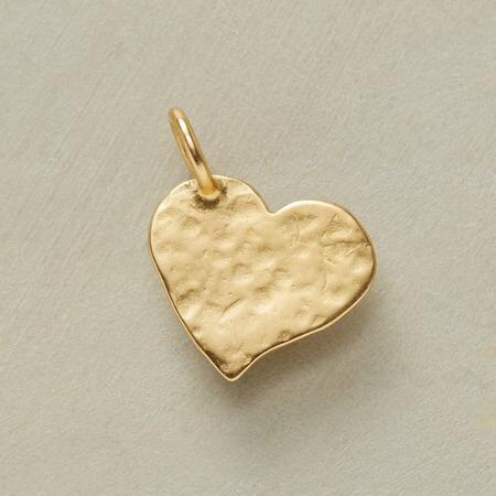 GOLD HAMMERED INSPIRATIONAL CHARMS