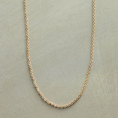 GOLD CHARMHOLDER CHAIN