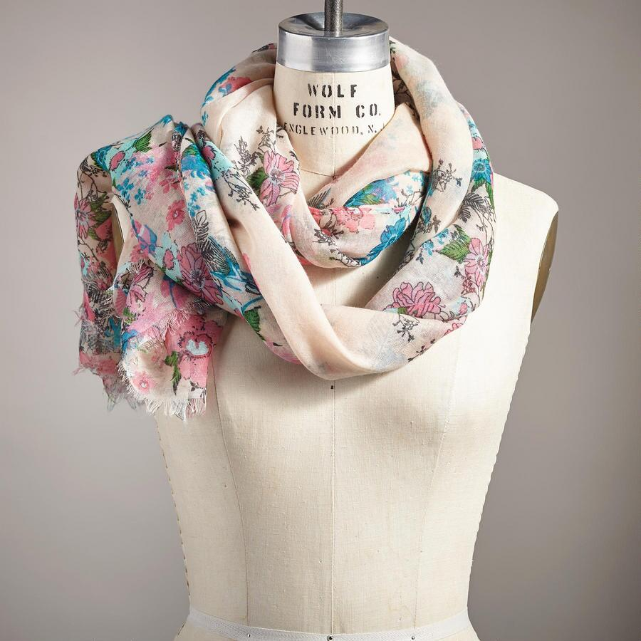 FLIGHT OF FANCY SCARF